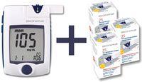 Глюкометр Rightest GM 300 + тест-полоски №25*3 упаковки (75 шт)