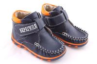Полуботиночки (Берегиня) - 2709 синие с оранжевыми вставками
