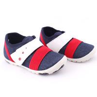 Текстильные кроссовочки (Берегиня) - 1017 синие с белыми и красными вставками